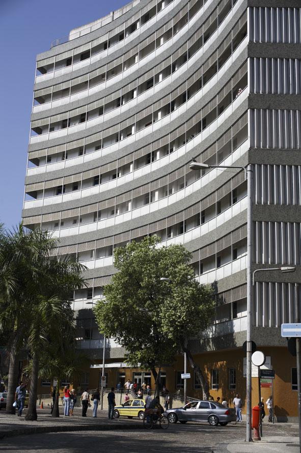Hospital do Câncer I, na Praça da Cruz Vermelha, Centro do Rio.