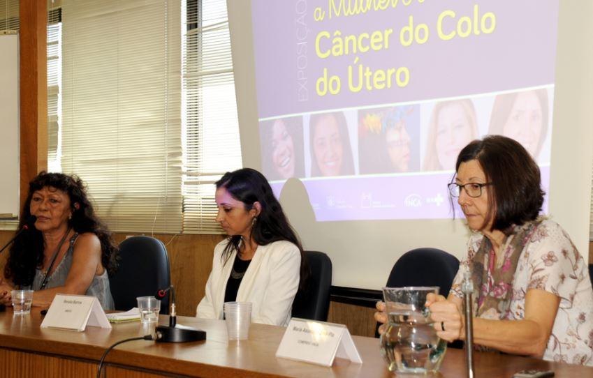 Maria do Espírito Santo Tavares (Santinha), Renata Barros e Maria Assunción Solé Pla fizeram apresentações durante o evento