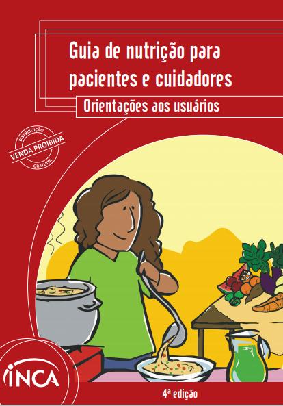 Imagem com pessoa servindo uma refeição em um prato fundo, com panela ao lado. Ao fundo, mesa com frutas.