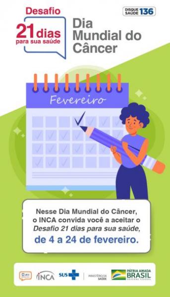 Peça em fundo verde com figura feminina marcando um calendário.