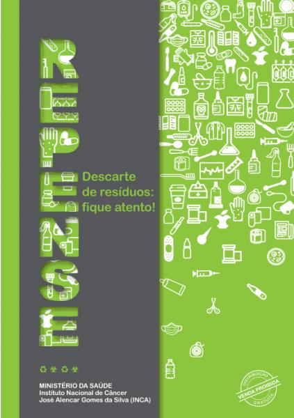 Capa da Cartilha REPENSE - Descarte de Resíduos: Fique Atento