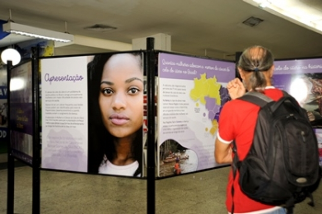 A exposição pode ser visitada no Terminal Rodoviário Novo Rio, na zona portuária da cidade, até o dia 24 de maio.