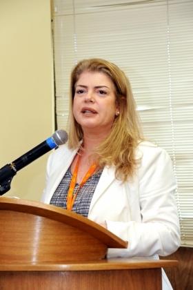 A diretora-geral do INCA, Ana Cristina Pinho , incentivou a todos que busquem informação e visitem a exposição.