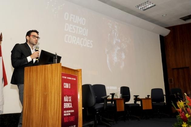 Palestra em comemoração ao Dia Mundial sem Tabaco