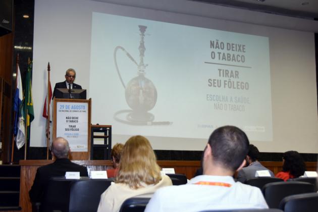 Coordenador de Prevenção e Vigilância do INCA, Eduardo Franco falou sobre o tema deste ano do Dia Nacional de Combate ao Fumo: o uso do narguilé