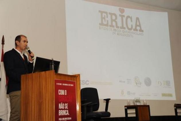 No evento foi apresentado o Estudo de Riscos Cardiovasculares em Adolescentes (Erica)