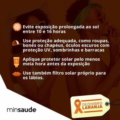 Medidas de prevenção do câncer de pele