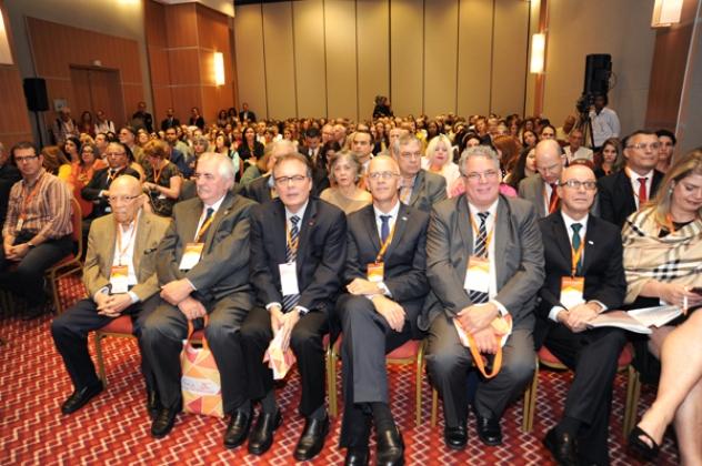 Ex-diretores do INCA compareceram ao evento e foram homenageados