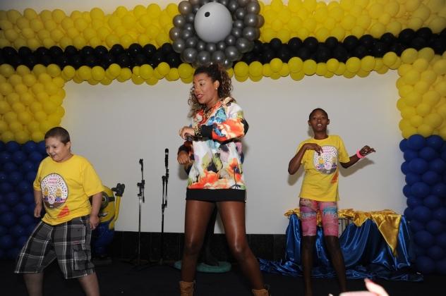 A MC Ludmilla fez todo mundo dançar com seus sucessos