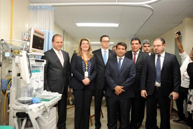 Direção-geral do INCA e ministro da Saúde inauguram o Centro de Diagnóstico do Câncer de Próstata, no HC II