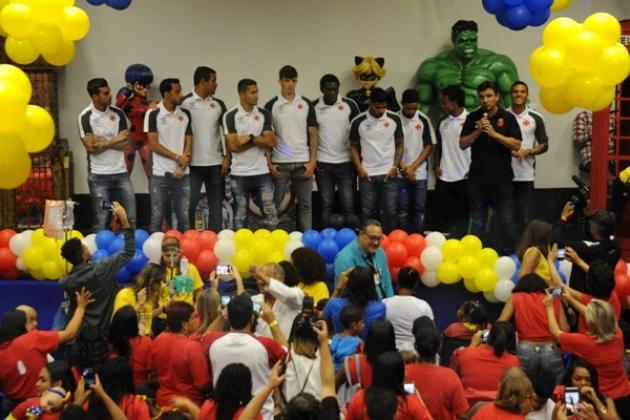 Time Sub-20 do Vasco também esteve presente no evento