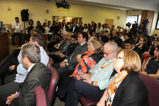 Lançamento do Centro de Diagnóstico contou com a presença de autoridades e profissionais da saúde e foi transmitido pelo canal do INCA no Youtube