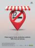 """A imagem contém a ilustração com o símbolo de proibido fumar dentro de um balão vermelho. Logo abaixo estão os dizeres """"Pode respirar fundo: ambientes coletivos 100% livres de fumaça""""."""